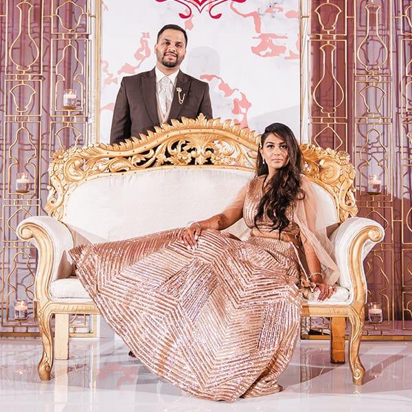 Bhavisha and Niraj