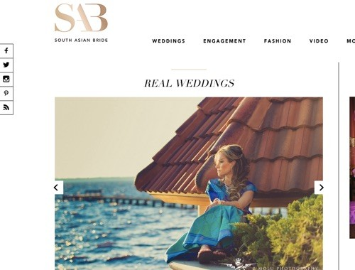 Featured Wedding: South Asian Bride
